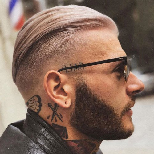 Slicked Back Men's Hairstyles