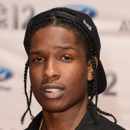 ASAP Rocky Long Hair