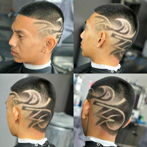 Buzz Cut + Wild Hair Designs