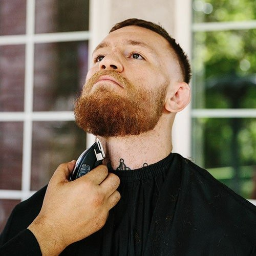 Conor McGregor Hair - High Skin Fade + Full Beard
