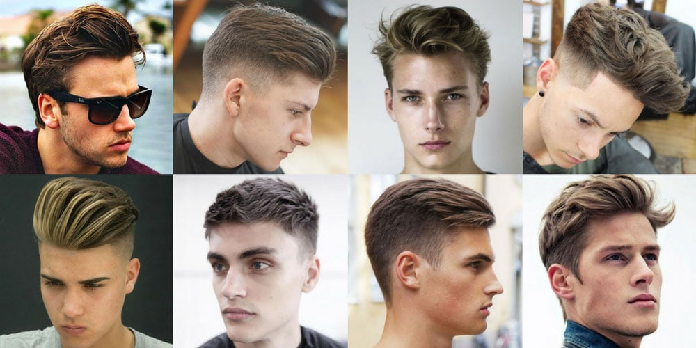 Teen Boy Haircuts - Hairstyles for Teenage Guys | Men\'s Haircuts + ...