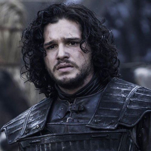 Jon Snow Hair - Curly Long Hair