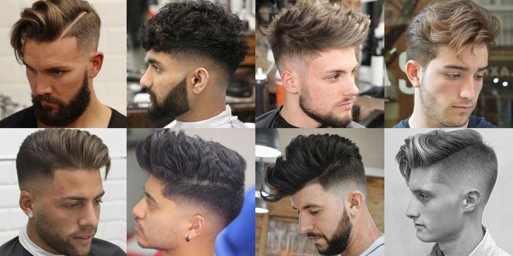 Men's Haircuts + Hairstyles 2017