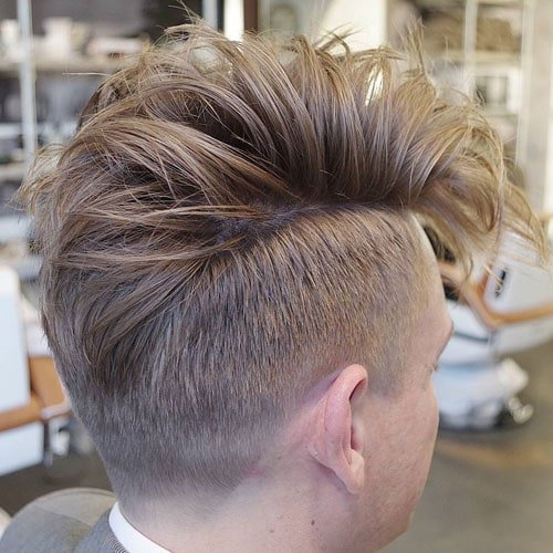 Long Fohawk + Short Sides