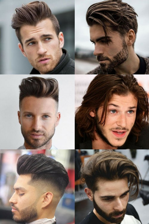 25 Medium Length Hairstyles For Men 2019 | Men\'s Haircuts + ...