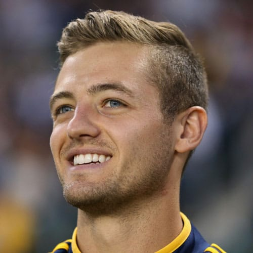 Robbie Rogers - Tapered Sides with Comb Over