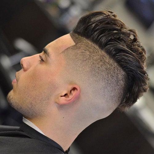 Shaved Undercut + Faux Hawk