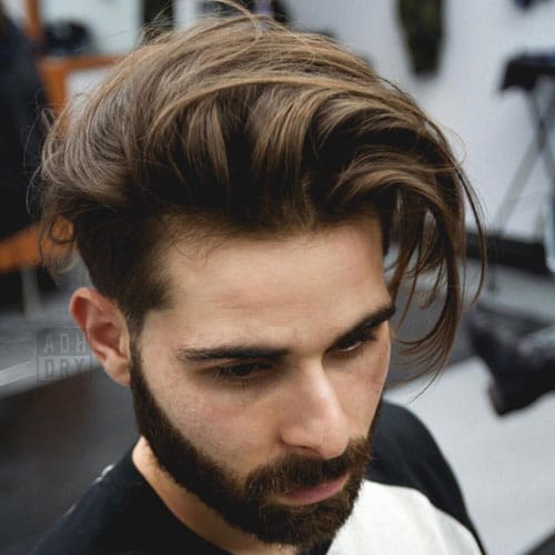 Short Tapered Sides + Longer Tousled Top