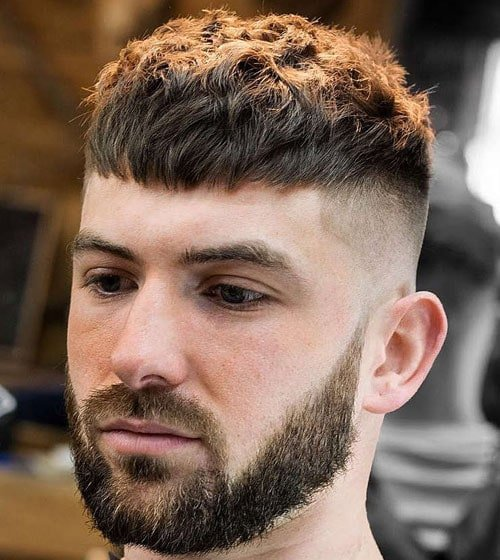 Crop Top Haircut