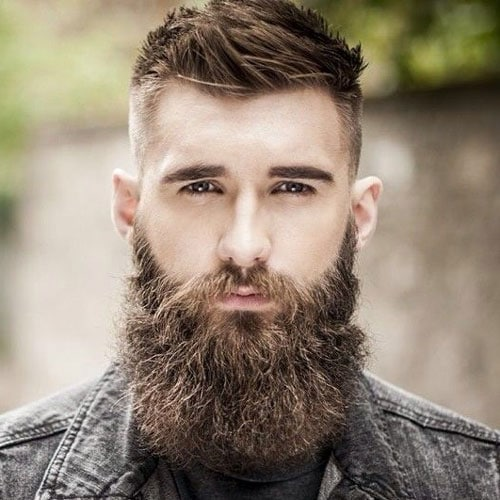 Fade Haircut + Beard