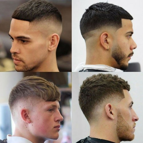 French Crop Haircut Cropped Hair Men