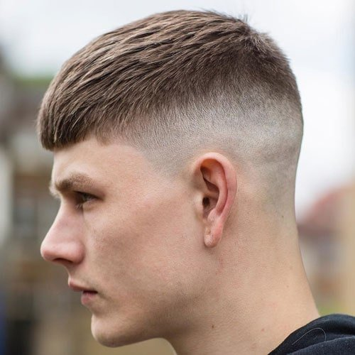 French Crop Haircut Cropped Hair For Men 2018 Men S