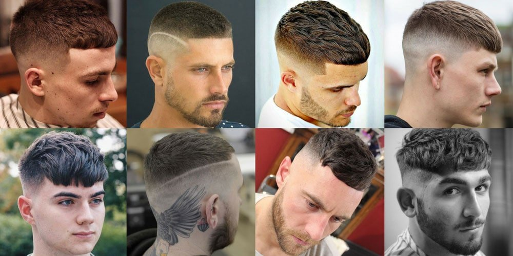 French Crop Haircut Cropped Hair For Men 2019 Men S