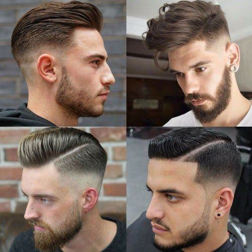 Haircuts with Beards