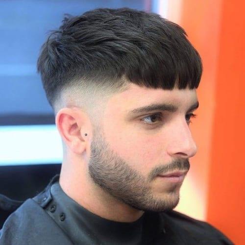 Textured Crop Haircut