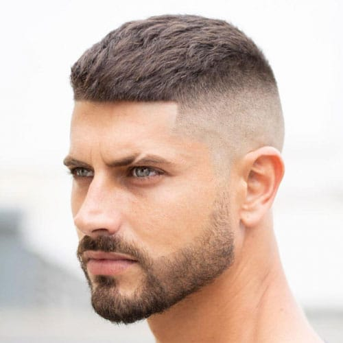 Textured French Crop Fade