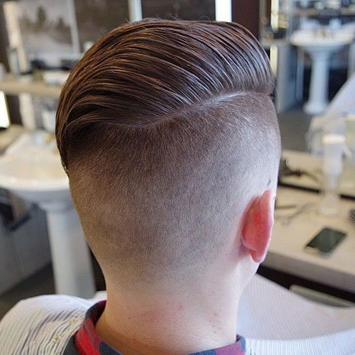 Comb Over Undercut