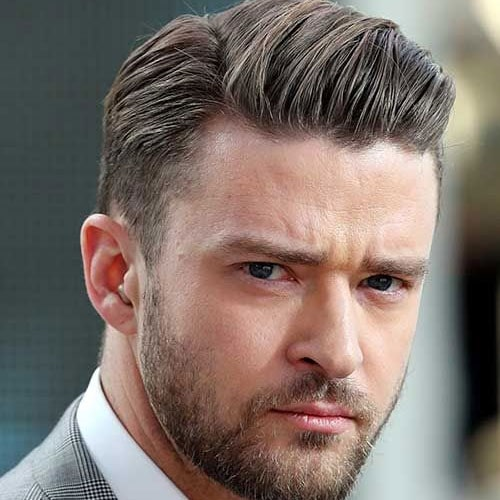 Great Cool Comb Over + Tapered Sides