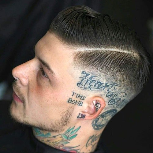 High Skin Fade Comb Over