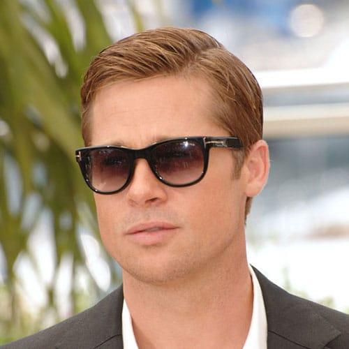 Brad Pitt Crew Cut Hairstyle