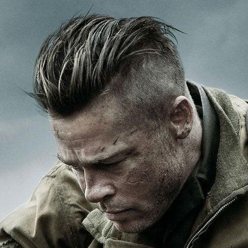 Brad Pitt Haircut Men S Haircuts Hairstyles 2018