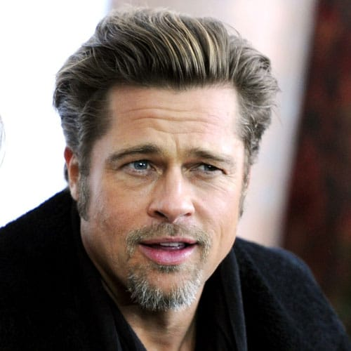 The Best Brad Pitt Haircuts Amp Hairstyles 2020 Update