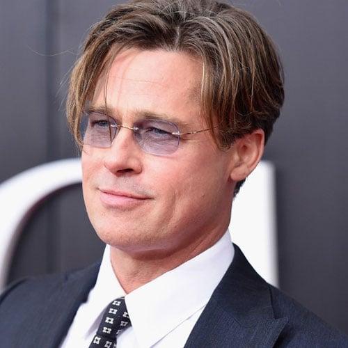 Brad Pitt Longer Hair