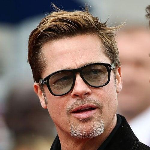 Brad Pitt Short Hair - Comb Over