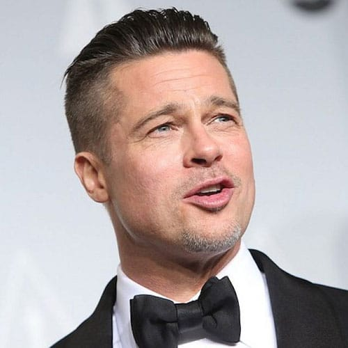 hair style for balding men undercut brad pitt 8231 | Brad Pitt Undercut