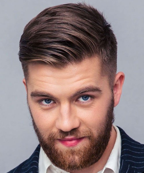 Classic Tapered Hairstyles For Men