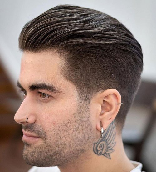 Cool Men's Tapered Haircuts