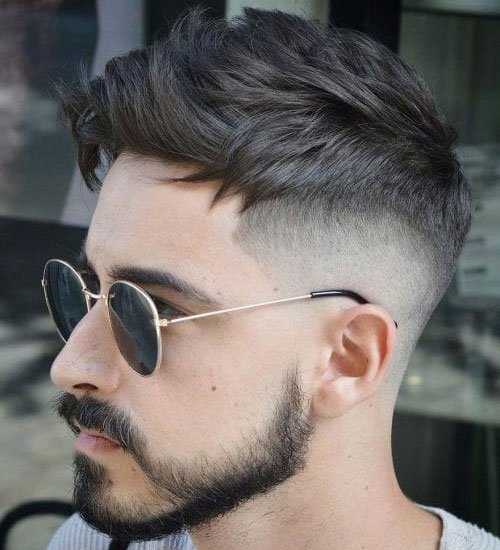 Cool Undercut Men's Haircuts