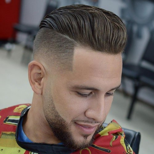 Disconnected Undercut Fade Haircut