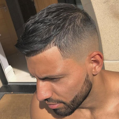 French Crop + Fade + Beard