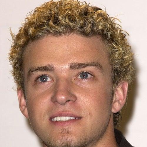 Justin Timberlake Curly Hairstyle