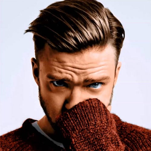Justin Timberlake Hairstyle Name - Comb Over