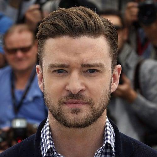 Justin Timberlake Pompadour + Beard