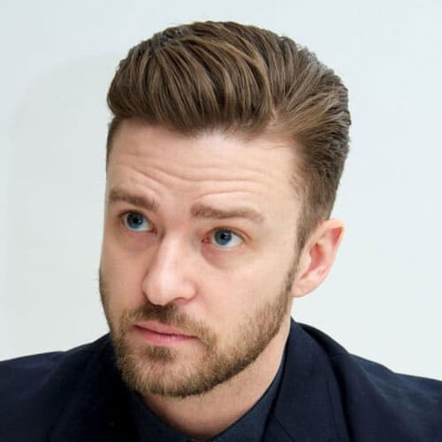 Justin Timberlake Quiff Haircut