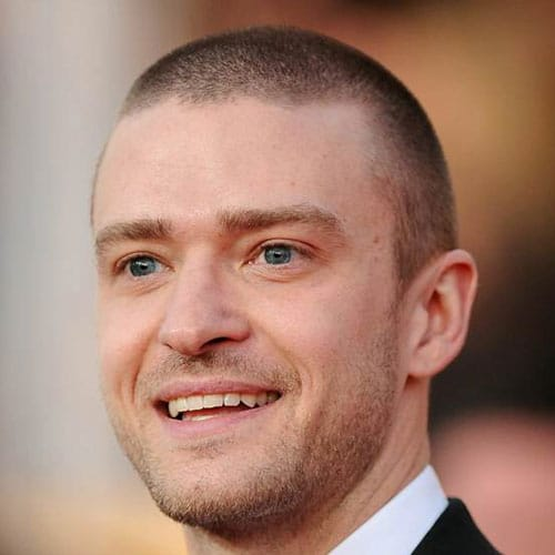 Justin Timberlake Short Hair - Buzz Cut