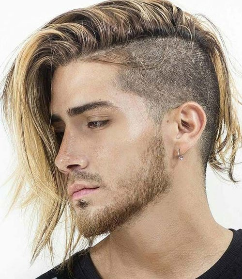 Long Hair Undercut