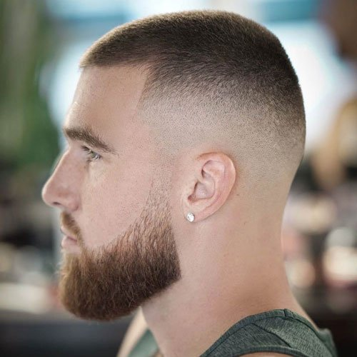 Men's Buzz Cut Hairstyle