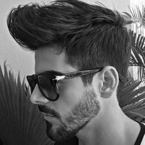 Quiff + Tapered Sides