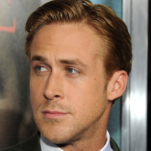 Ryan Gosling Hairstyle - Classic Side Swept Comb Over