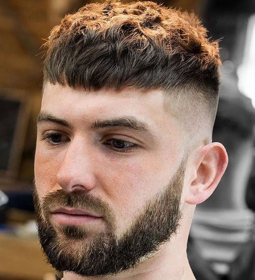 Short Hair Undercut Men