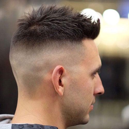 Short High and Tight Fade Haircut