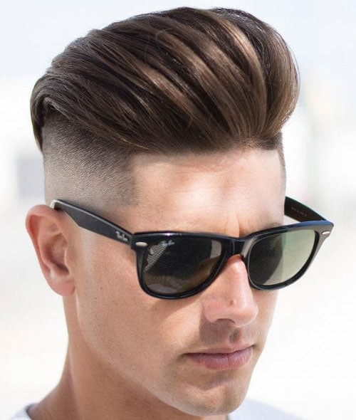 Straight Hair Undercut