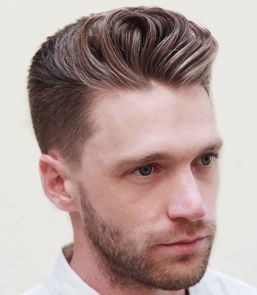 Styling A Tapered Hairstyle