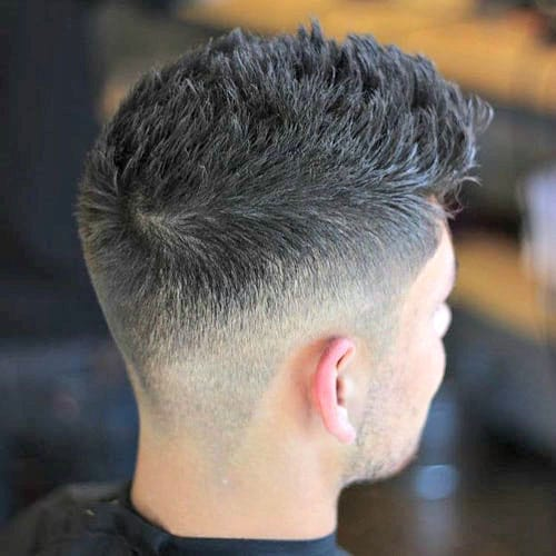 Textured Modern Spikes + Low Taper Fade
