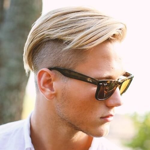 Textured Undercut Hairstyle For Men