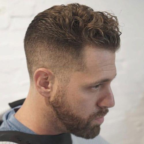 Wavy Hair Undercut